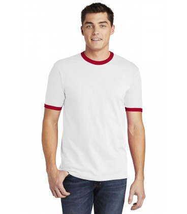 White/ Red - 2410W - American Apparel