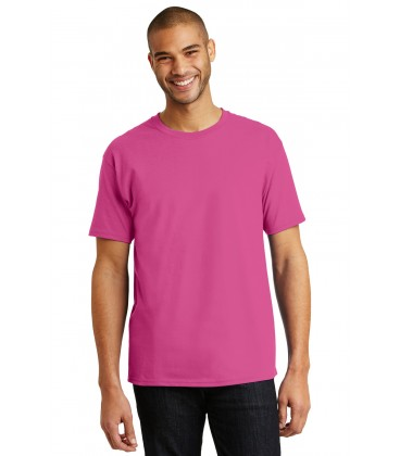 Wow Pink - 5250 - Hanes