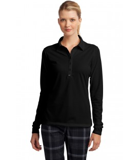 Ladies Long Sleeve Dri-FIT Stretch Tech Polo