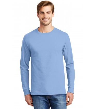 Light Blue - 5586 - Hanes