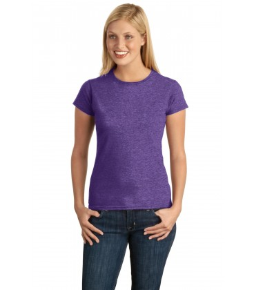 Heather Purple - 64000L - Gildan