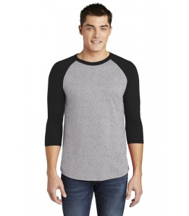 Heather Grey/ Black - BB453W - American Apparel