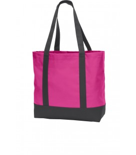 Tropical Pink/ Dark Charcoal - BG406 - Port Authority