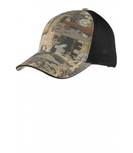 Oilfield Camo/ Black Mesh - C912 - Port Authority
