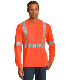 Safety Orange/ Reflective - CS401LS - CornerStone