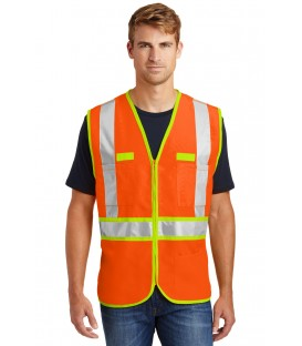 Safety Orange/Safety Yellow - CSV407 - CornerStone
