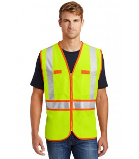 Safety Yellow/Safety Orange - CSV407 - CornerStone