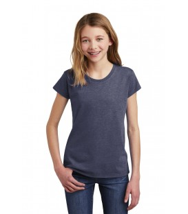 Juniors Tri-Blend V-Neck Tee
