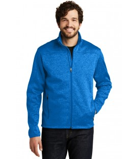 Brilliant Blue Heather/ Grey - EB540 - Eddie Bauer