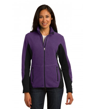 Purple Heather/ Black - L227 - Port Authority