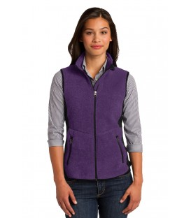Purple Heather/ Black - L228 - Port Authority