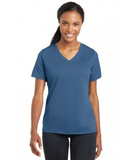 Ladies Core Cotton V-Neck Tee