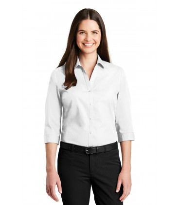 Ladies Contrast Stitch Micropique Sport-Wick Polo