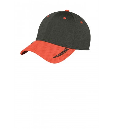 Orange/ Black Shadow Heather - NE704 - New Era