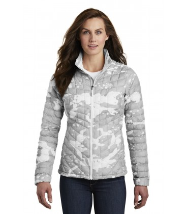 TNF White Woodchip Print - NF0A3LHK - The North Face