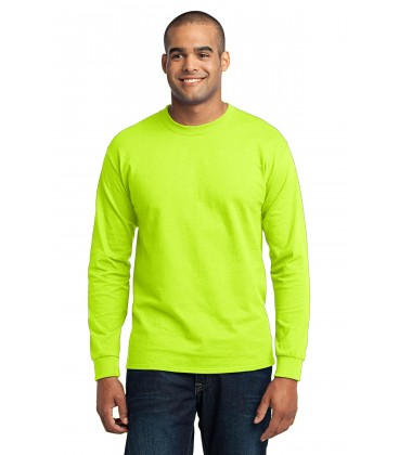 Safety Green - PC55LS - Port & Company