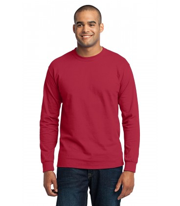 Red - PC55LS - Port & Company
