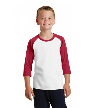 White/ Red - PC55YRS - Port & Company