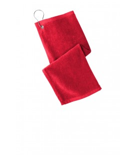 Grommeted Hemmed Towel