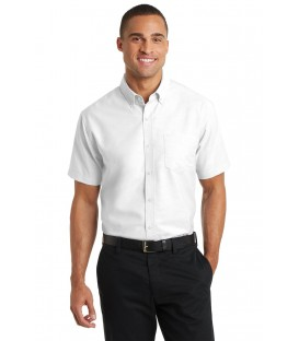 Short Sleeve SuperPro Oxford Shirt