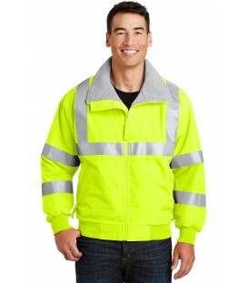 Safety Yellow/ Reflective - SRJ754 - Port Authority