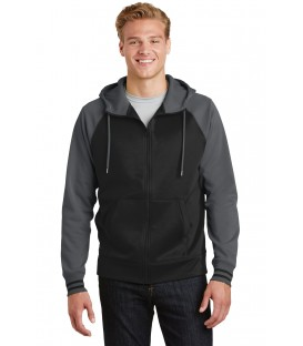 Sport-Wick Varsity Fleece Full-Zip Hooded Jacket