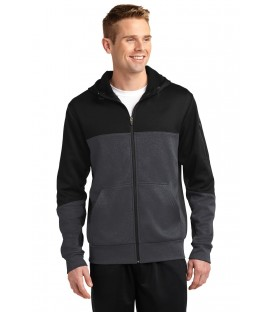 Tech Fleece Colorblock Full-Zip Hooded Jacket
