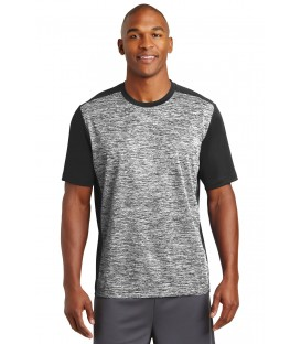 PosiCharge Electric Heather Colorblock Tee