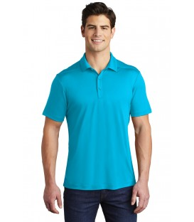 Heather Contender Contrast Polo