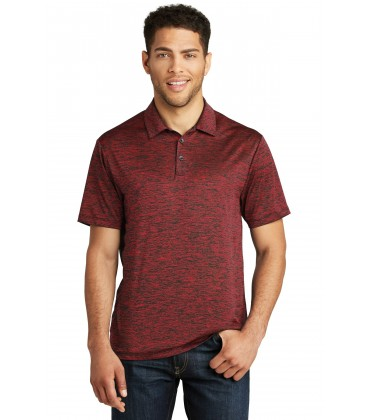 PosiCharge Active Textured Colorblock Polo