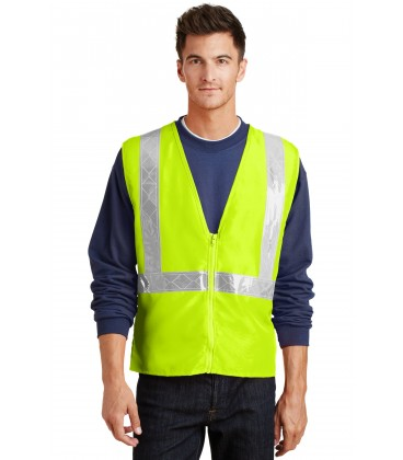 Safety Yellow/ Reflective - SV01 - Port Authority