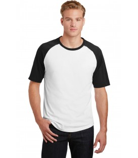 Short Sleeve Colorblock Raglan Jersey
