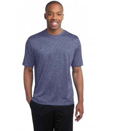 True Navy Heather - TST360 - Sport-Tek
