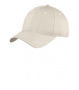 Youth Six-Panel Unstructured Twill Cap