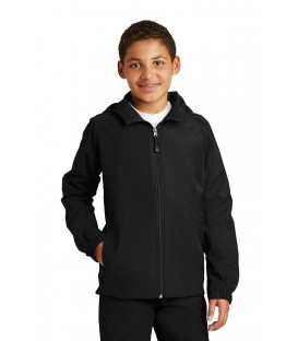 Youth Hooded Raglan Jacket