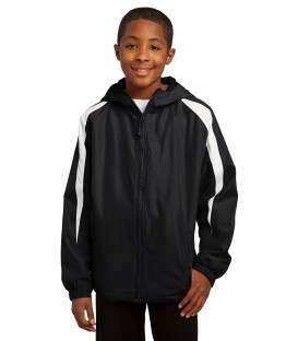 Youth Fleece-Lined Colorblock Jacket