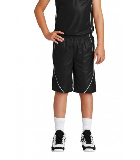 Youth PosiCharge Mesh Reversible Spliced Short
